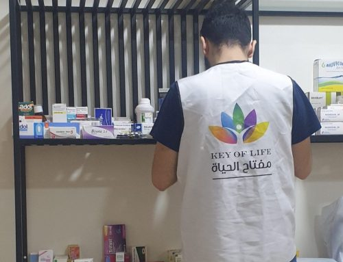 Medication Distribution for family affected by the 4th of August explosion