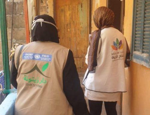 Food Kits Distribution with Dar Zaytouna NGO